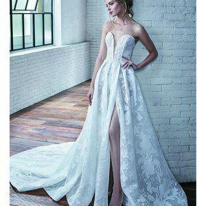 Badgley Mischka Aline Wedding dress